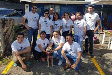 Equipo de voluntarios de #UnaHuellaUnAmigo